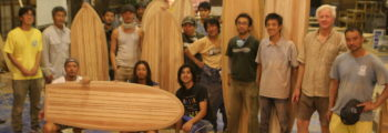 Paul Jensen木製サーフボード自作教室 in 京都 2017